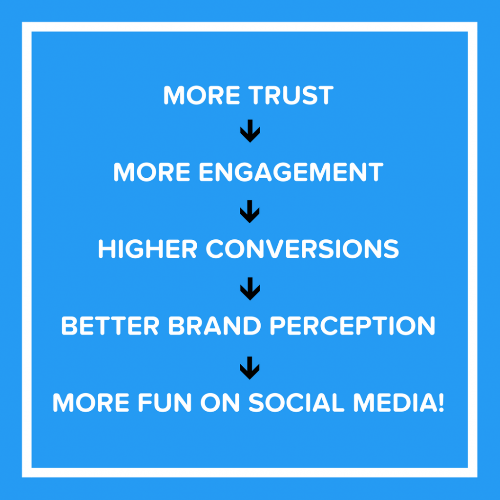 Build trust on social media