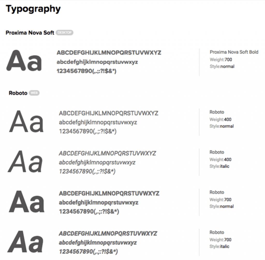 Quuu typography