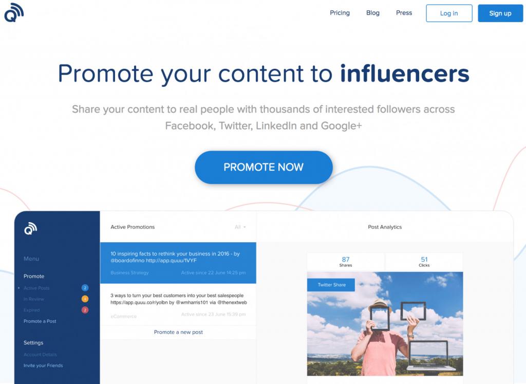 promote blog posts