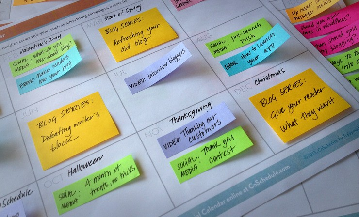 organise your blog