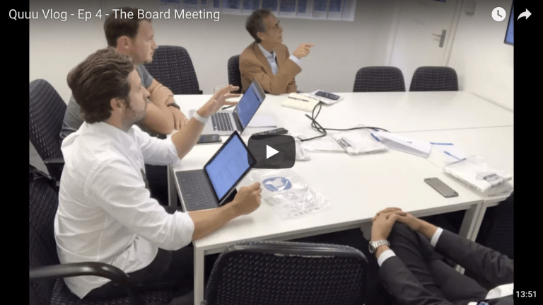 The Board Meeting - Founder's Vlog