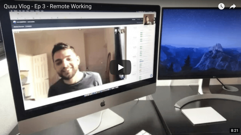 Remote Working - Founder's Vlog