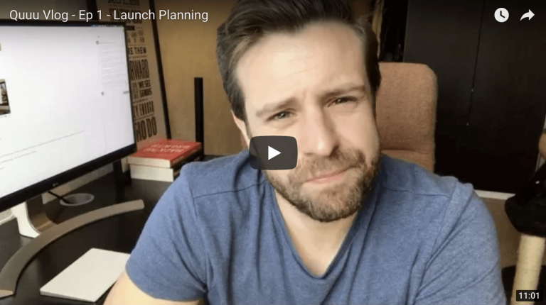 Launch Planning - Founder's Vlog