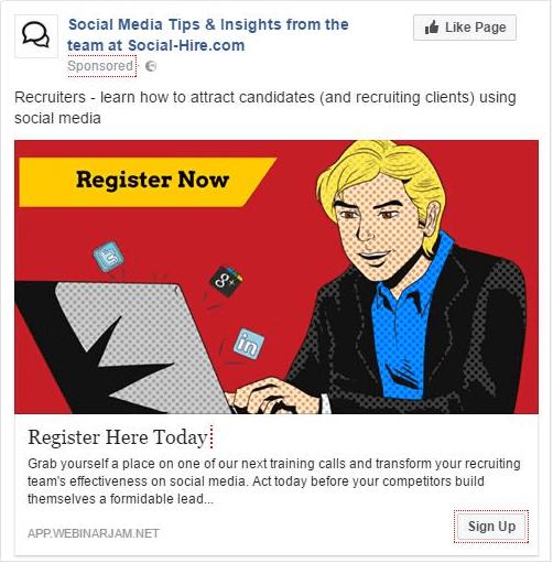 Facebook retargeting campaign