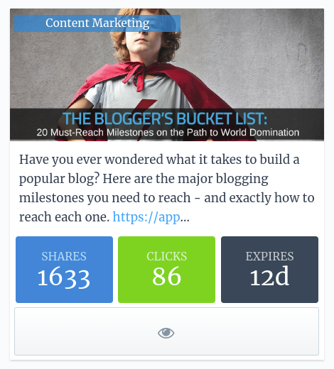 Smart Blogger's Quuu Promote results are helping them overcome ad blindness