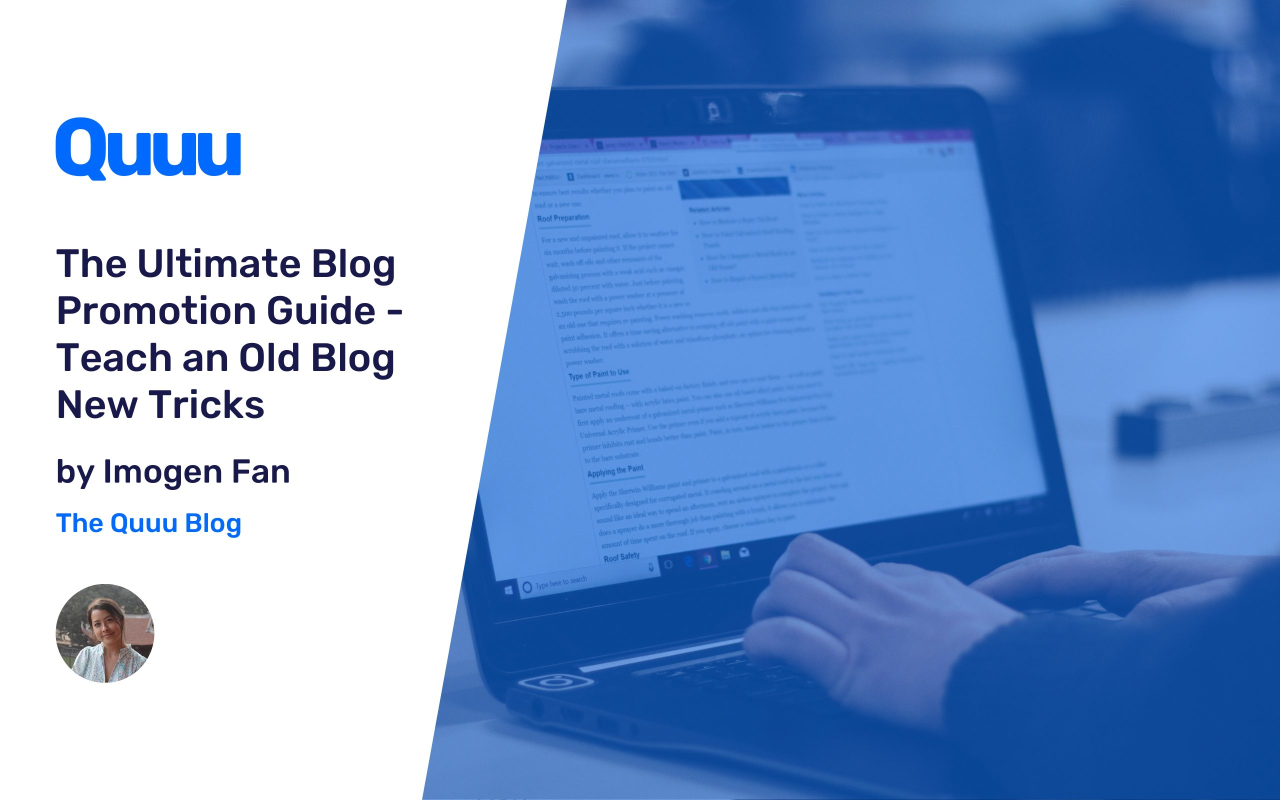 The Ultimate Blog Promotion Guide - Teach an Old Blog New Tricks