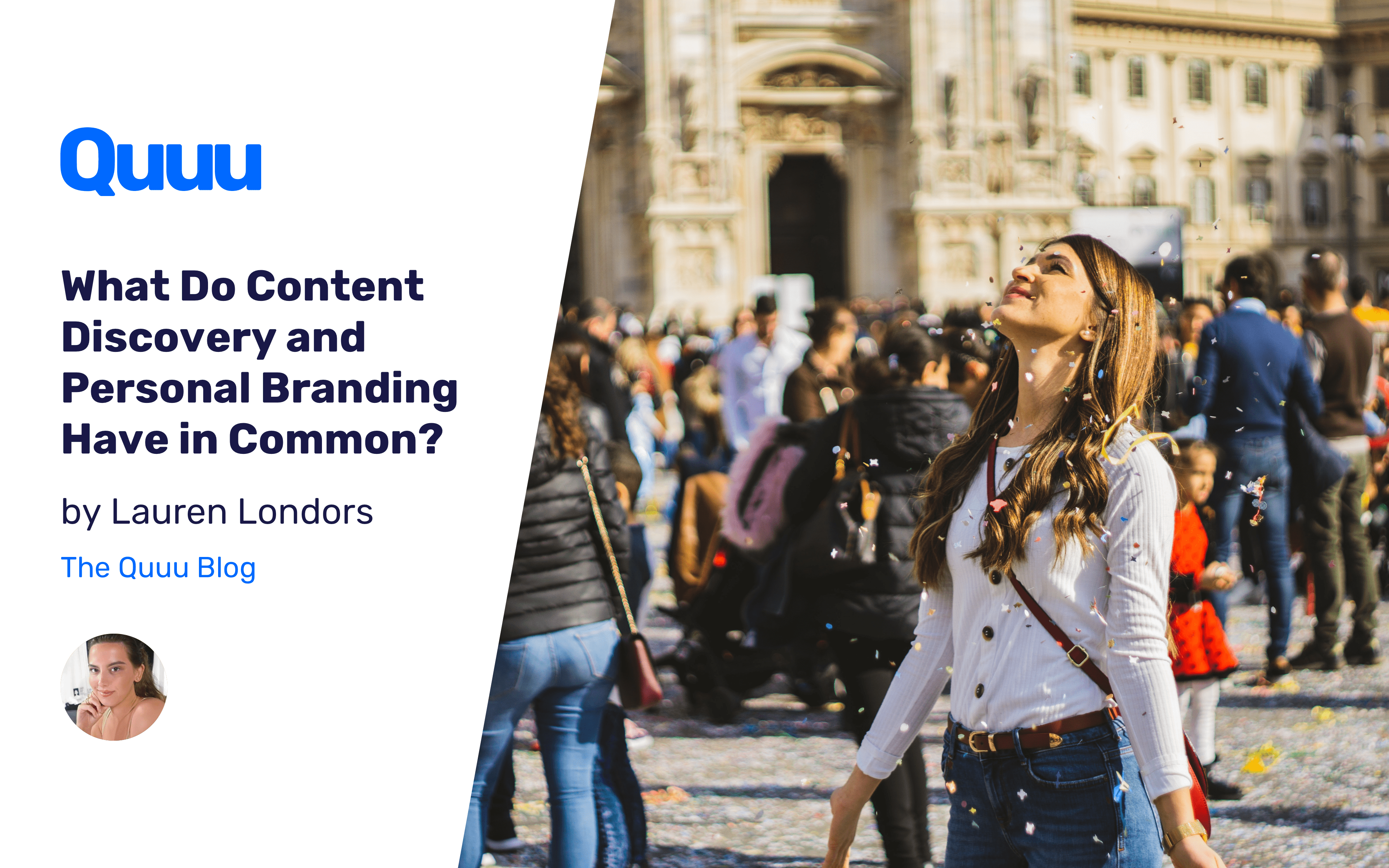 What Do Content Discovery and Personal Branding Have in Common?