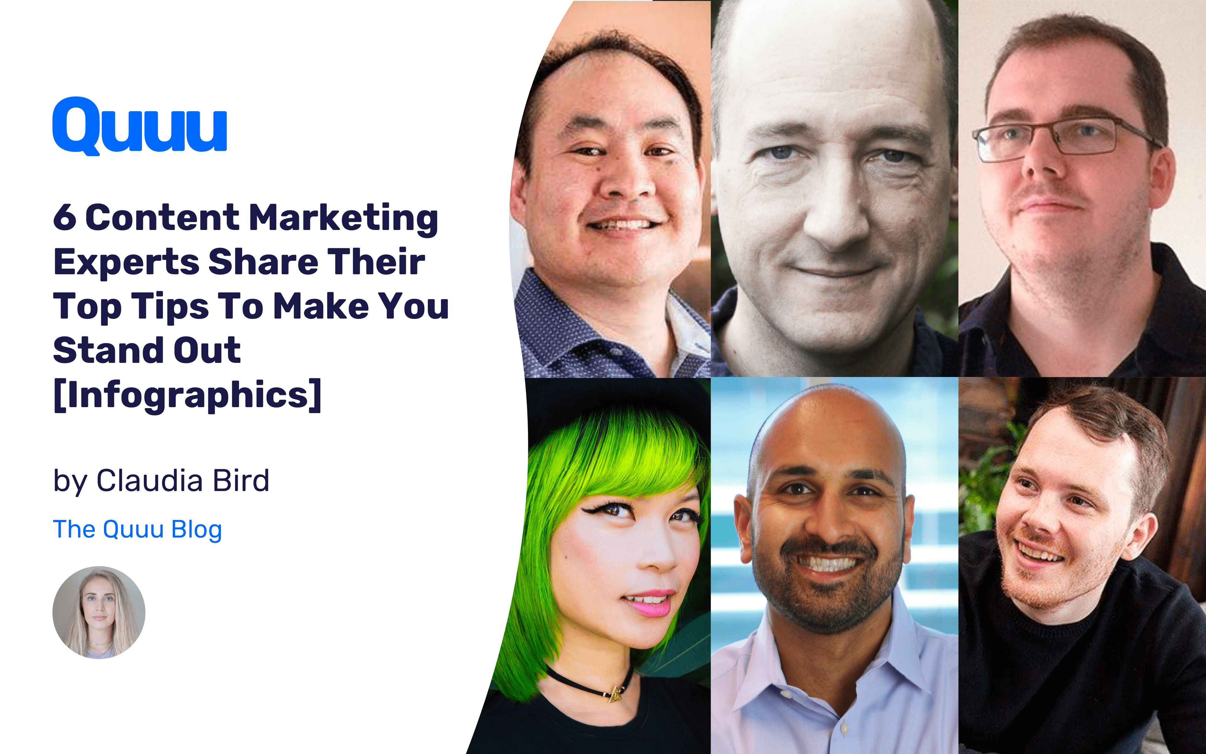 6 Content Marketing Experts Share Their Top Tips To Make You Stand Out [Infographics]