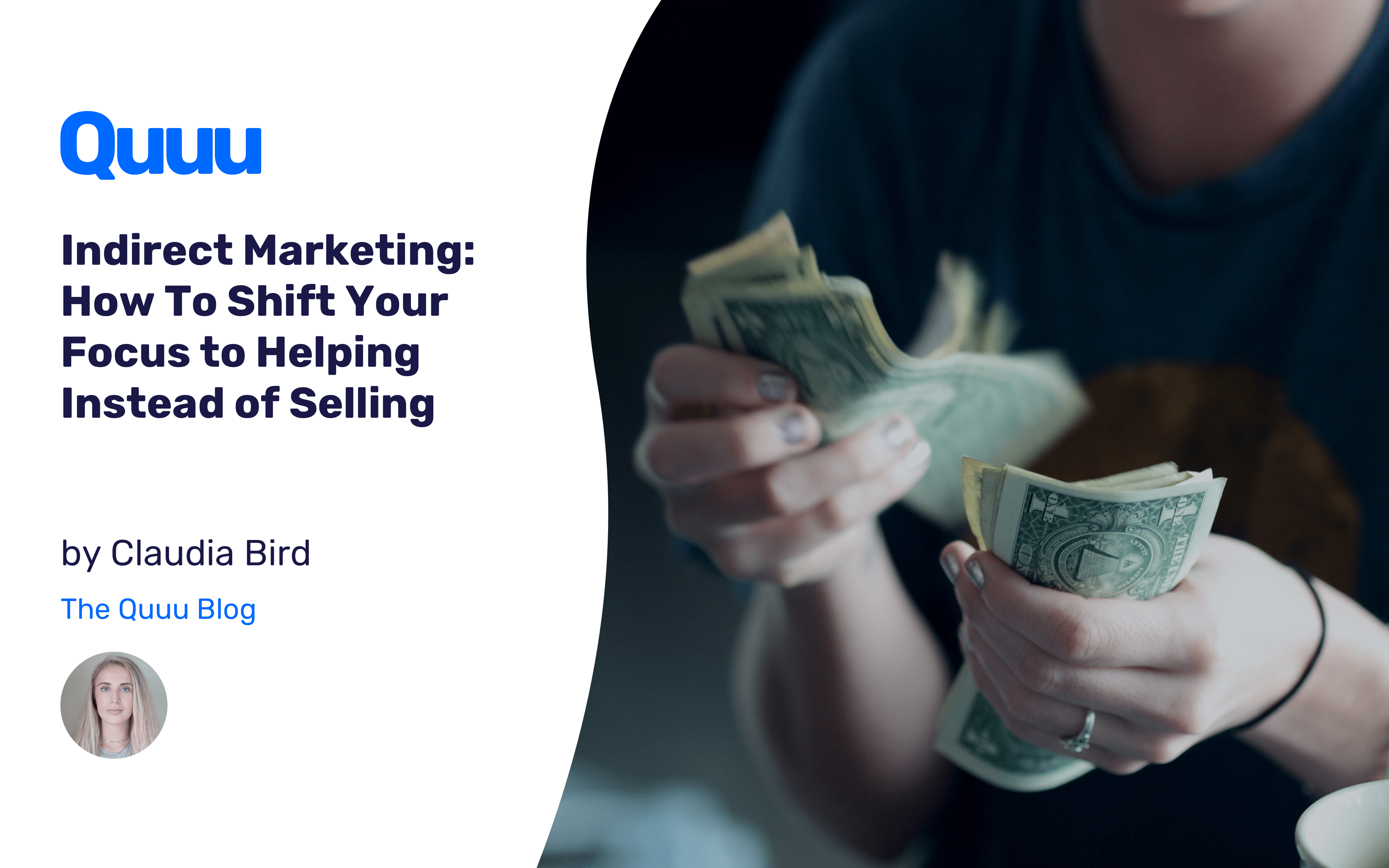 Indirect Marketing: How To Shift Your Focus to Helping Instead of Selling